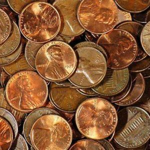 Copper Memorial Unsearched Cents
